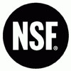Aquamaster PRO water softeners are certified by NSF (National Sanitation Foundation)